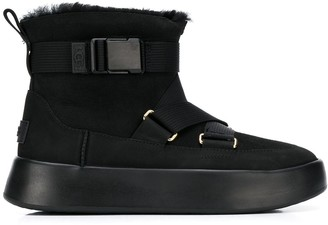 UGG Strap Fastened Suede Boots