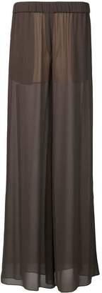 Vera Wang wide leg palazzo pants