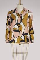 Marc Jacobs Printed silk shirt
