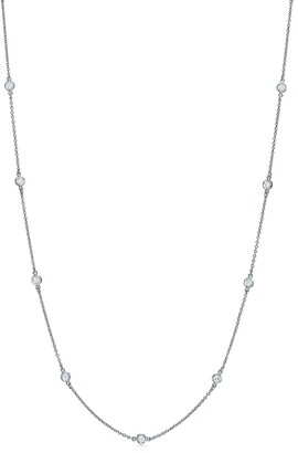 Tiffany & Co. Elsa Peretti Diamonds by the Yard necklace in platinum