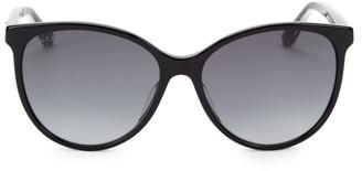Gucci 57MM Cateye Acetate Sunglasses