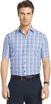 Van Heusen Men's Air Wovens Classic-Fit Poplin Performance Button-Down Shirt