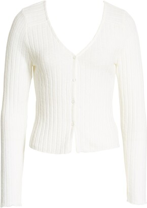 Socialite Button Front Cardigan