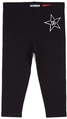 Dolce & Gabbana Kids Millennials Star Leggings