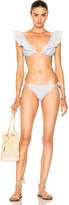 Zimmermann Meridian Stripe Tri Bikini Set
