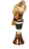 Jay Strongwater Espen Falcon Wine Stopper Stand