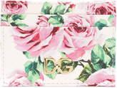 Dolce & Gabbana floral print card holder