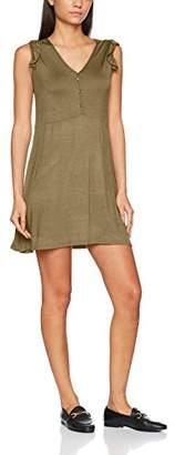 FM London Women's Short Sleeve Plain Short Sleeve Dress