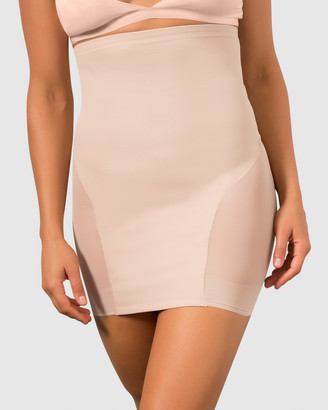 Miraclesuit Shapewear - Women's Nude Bodysuits - Sheer Shaping X-Firm Hi Waist Slip - Size One Size, M at The Iconic