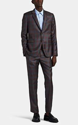 Paul Smith Men's Kensington Plaid Wool Two-Button Suit - Red