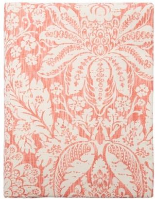 D'Ascoli Garden 224cm X 315cm Floral Linen-blend Tablecloth - Pink Multi