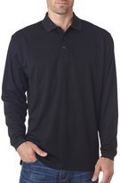 UltraClub Men's Moisture Wicking Piqué Polo Shirt