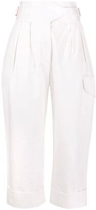 See by Chloe City straight-leg cargo trousers