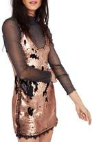 Free People Women's Seeing Double Sequin Slipdress
