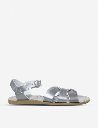 Saltwater Sandals Salt Water metallic leather sandals