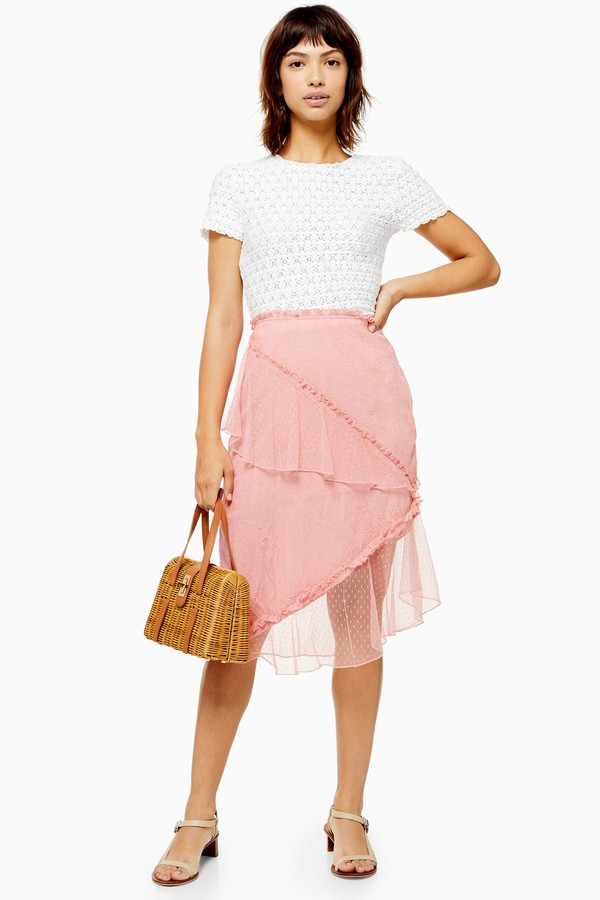 a7d26d9dd Topshop Pink Skirts - ShopStyle