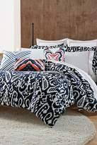 Trina Turk Indigo Ikat Twin/Twin XL Comforter & Sham 2-Piece Set - Indigo/White