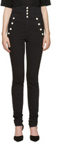 Isabel Marant Black High-Rise Marvin Jeans