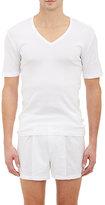 Hanro Men's Pure T-Shirt-WHITE