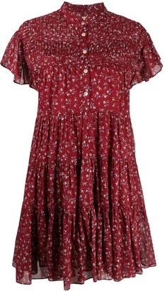 Etoile Isabel Marant Lanikaye floral-print tiered dress