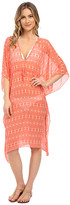 Echo Ikat Double V Butterfly Cover-Up