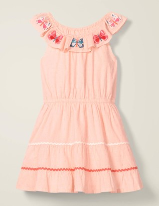 Embroidered Ric Rac Dress