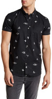 Quiksilver Eye For An Eye Short Sleeve Slim Fit Shirt