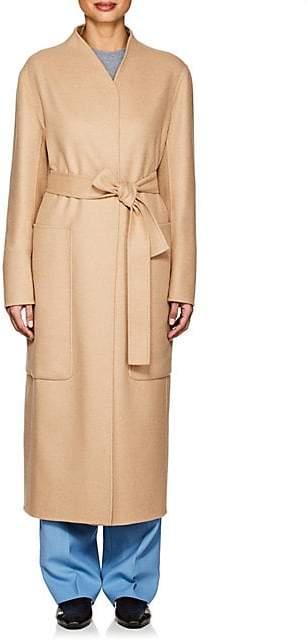 The Row Women's Paret Wool-Cashmere Melton Coat - Camel