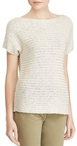 Lauren Ralph Lauren Textured Short-Sleeve Sweater