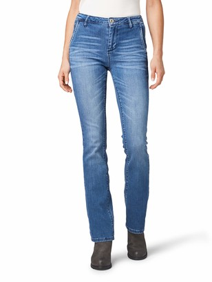 Tom Tailor Women's Kate Narrow Bootcut Jeans