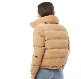 Brave Soul Womens Slay Cord Jacket Stone