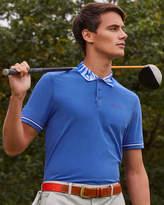 Ted Baker Printed collar golf polo shirt