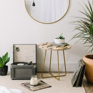 Deny Designs Jungle Cactus Side Table