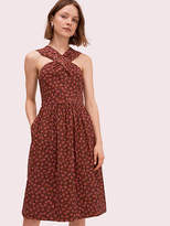 Kate Spade Floradoodle Halter Dress
