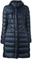 Moncler 'Hermine' short coat - women - Feather Down/Polyamide - 2