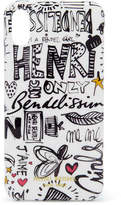 Henri Bendel Graffiti Graphic Case for iPhone X
