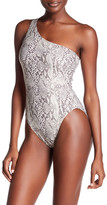 Norma Kamali One Shoulder One-Piece Swimsuit