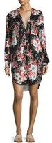 Rag & Bone Verna Floral Patchwork Dress, Multicolor
