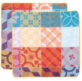 Garnier Thiebaut Mille Tiles Cotton Cushion Covers (Set of 2)