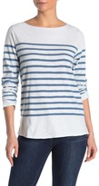 Amour Vert Faherty Brand Francoise Striped Long Sleeve T-Shirt