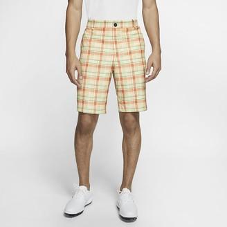 Nike Men's Plaid Golf Shorts Flex
