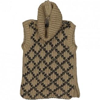 Chanel Khaki Wool Knitwear