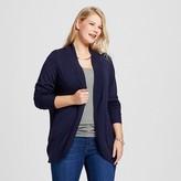 Merona Women's Plus Size Cocoon Cardigan Navy