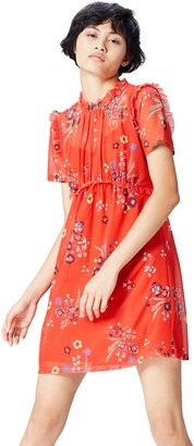 Find. Amazon Brand Women's Floral Mini Dress