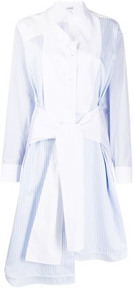 Loewe Tie-Front Midi Shirtdress