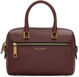 Marc Jacobs Burgundy West End Small Bauletto Bag