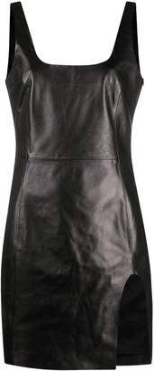 Drome Backless Leather Minidress