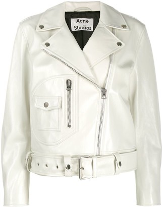 Acne Studios relaxed fit biker jacket