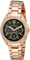 Lucien Piccard Women's LP-10052-RG-11 Eclipse Analog Display Japanese Quartz Rose Gold Watch