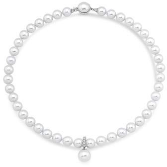 """Majorica Simulated Pearl Strand Necklace, 18"""""""